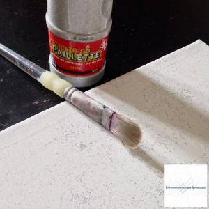 Peinture pailletée