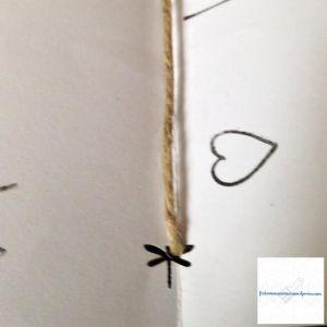 Photo du trou réalisé avec la perforatrice