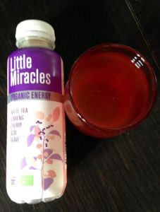 Little Miracles Organic Energy Drink white tea and cherry