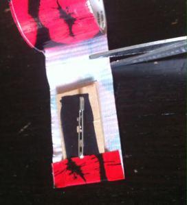 entourer de masking tape 1